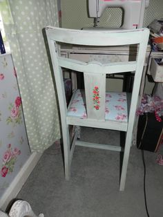 raid a skip & look what you may find chair Granny Chic, Something Old, Recycled Furniture, Shabby Chic Furniture, Restoration, Recycling, Chair, Handmade, Vintage