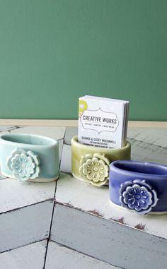 Porcelain Card Holder