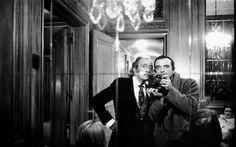 Salvador Dalì and David Bailey 1972