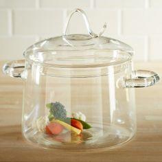 VivaTerra Borosilicate Glass Steaming Stock Pot with Lid Cool Kitchen Gadgets, Kitchen Items, Kitchen Utensils, Cool Kitchens, Kitchen Dining, Kitchen Decor, Kitchen Necessities, Kitchen Essentials, Heat Resistant Glass