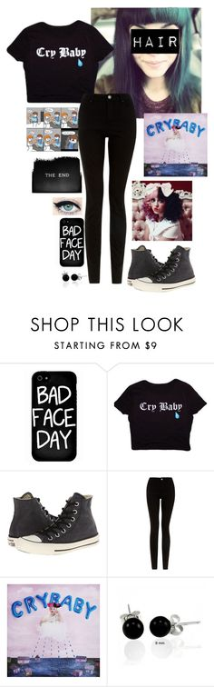 """""""Untitled #649"""" by alexisbierack ❤ liked on Polyvore featuring Local Heroes, Converse, Bling Jewelry and Humör"""
