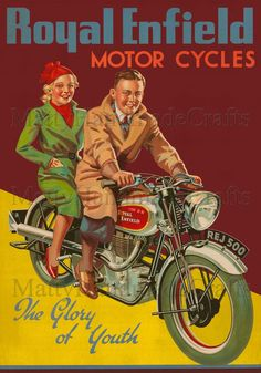 Fun motorcycle ad - where are the helmets?