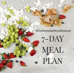 7 Day Reboot Meal Plan