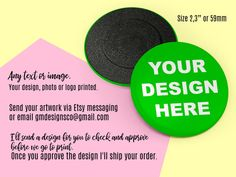 Custom Magnets, Personalized fridge magnets with your Image Photo Logo Text picture or design, Printed magnets,
