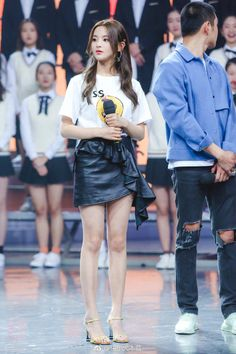 My Idol, Leather Skirt, Chinese, Girly, Punk, Skirts, Clothes, Beauty, Style
