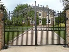 Image result for wrought iron gate designs uk