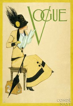 shu84: Old Vogue Magazine Covers part 1