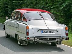 Tatra 603. Learn more about Tatra cars - article, video and slides at: http://www.examiner.com/article/tatra-a-rare-car-that-influenced-many-others?cid=db_articles