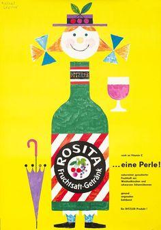 Herber Leupin illustration, 1952