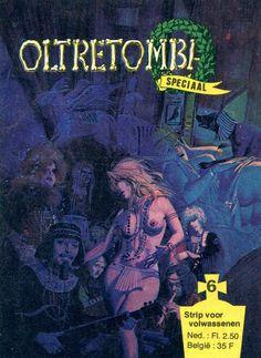 Cover for Oltretomba speciaal (De Vrijbuiter; De Schorpioen, 1973 series) #6