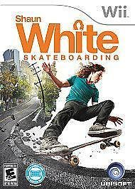 Ubisoft Official Nintendo Wii Shaun White Skateboarding 10 and over Video Game