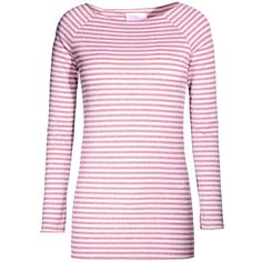 George J. Love Jumper ($43) ❤ liked on Polyvore featuring tops, sweaters, red, long sleeve sweaters, pink sweater, long sleeve jumper, lightweight sweaters and rayon tops