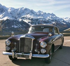 1953 Drophead Coupé  Maintenance/restoration of old/vintage vehicles: the material for new cogs/casters/gears/pads could be cast polyamide which I (Cast polyamide) can produce. My contact: tatjana.alic@windowslive.com