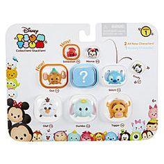Tsum Tsum 9-pk. Series 1 - Olaf, Dumbo, Tigger, Gus, Stitch, Cinderella, Goofy, Minnie, and Secret Character