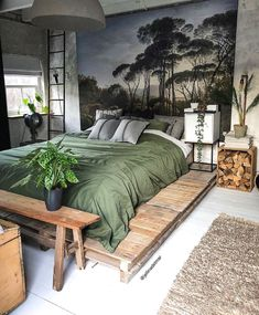 Home Interior Design Bohemian style bedroom in Kollam Netherlands. Small Bedroom Ideas Bedroom Bohemian Design Home Interior Kollam Netherlands Style Bedroom Inspo, Home Bedroom, Bedroom Inspiration, Bedroom Ideas, Master Bedrooms, Bedroom Table, Small Bedrooms, Dream Bedroom, Modern Bedroom