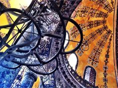 Hagia Sofia (Ayasofya, Istanbul, Turkey — by Bernini. Dome of Hagia Sophia. #architecture