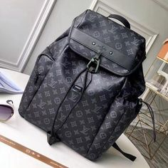 Louis Vuitton Vivienne Mascot Monogram Eclipse Canvas Discovery Backpack M43694 2018