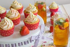 Why not make some Pimm's Cupcakes? | 22 Pimm's-Filled Ways To Toast The Royal Baby