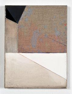 Svenja Deininger  Untitled, 2011 Oil on canvas 28 x 21 cm
