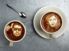 The Amazing Art of Coffee Portraiture By Mike Breach