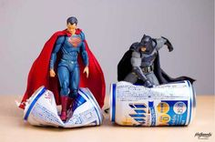 Japanese photographer ホットケノービ is bringing action figurines to life