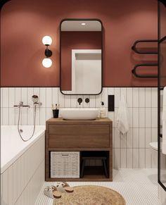 Bathroom Mirror Design, Bathroom Inspo, Bathroom Interior Design, Home Interior, Bathroom Inspiration, Kitchen Interior, Modern Bathroom, White Bathrooms, Luxury Bathrooms