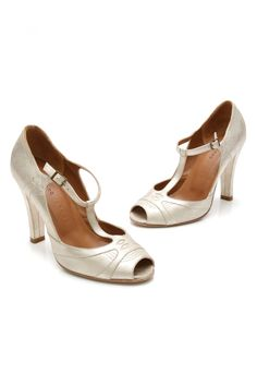 Marc Jacobs gold suede heels- size 6 (our price: $79.99)