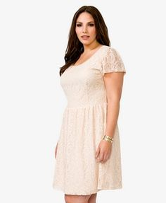 Floral Lace Dress | FOREVER 21 - 2040495842