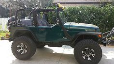 1998 JEEP WRANGLER 4WD- LIFTED, SOFT TOP, WINCH, NO RUST NEW ENGINE, SPEAKER BAR 1998 Jeep Wrangler, Jeep Wrangler For Sale, Jeep Jeep, Jeep Truck, Jeep Sayings, Jeep Quotes, 4x4, Limo For Sale, Jeep Wave