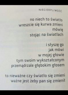 Andrzej Kotański Just Love, Let It Be, Words Quotes, Sayings, Medicine Student, In Other Words, Word Out, Life Goals, Introvert