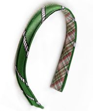 Preppy headband from Kiel James Patrick - I think I could create one of my own