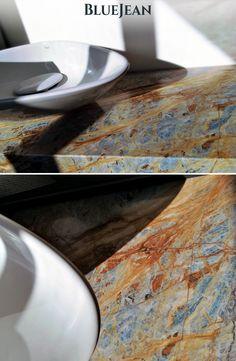 Blue Jean | #bluejeanmarble #marble #design #marbledesign #marmi #marmo #countertop #bluejeansmarble #interior #decor #luxury