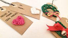 3 Ideas para Marcar los Regalos de Navidad a Crochet - Paso a Paso