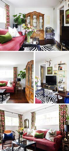 Una casa vintage o cómo usar los muebles de la abuela
