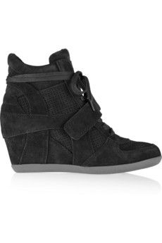 130ded505413 ASH Bowie suede wedge high-top sneakers