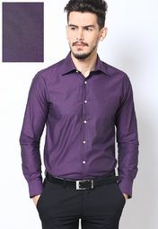 Feel The Amazing Flawless And Soft Texture Wearing This Blue Coloured Formal Shirt By Raymond