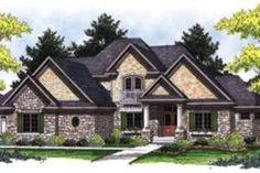 House Plan 70-847  Outside