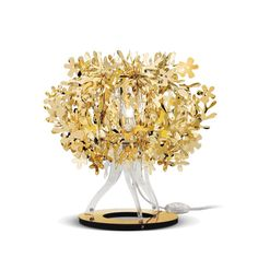 "Precious Metals; which is your favorite? ""Strike Gold"" with this little bijoux, a glistening bouquet for anywhere and everywhere.  www.slamp.com"