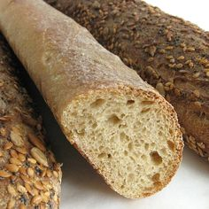 Un baguette integrale? Mais non – c'est incroyable! Such might be the reaction of any self-respecting Parisian, who'd no doubt scoff at a whole-wheat version of France's beloved baguette. But as a new year dawns, and you vow – AGAIN – to eat healthier, get a little sauvage et fou: try this baguette. I mean, …