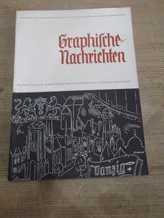 Cover Graphische Nachrichten, 13. Jahrgang, Heft 8, August 1934