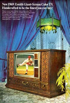 """1969 ZENITH - """"The quality goes in... before the name goes on"""""""