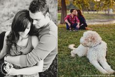 engagement picture idea with jo and nixon... somehow betsy and patches too lol