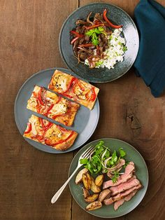 When you're pressed for time and not sure what to make, look up our specially tailored 10-ingredient shopping list and you'll have 3 fast and easy dinner recipes to choose from all weeklong.