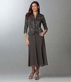 bdf10db929 Alex Evenings Glitter Jacket Dress
