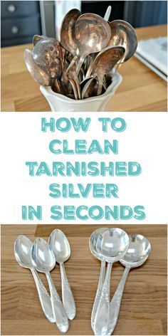 How To Clean Silver And Remove Tarnish Household Cleanersdiy