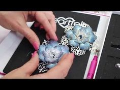 Papercrafting Video - 7 ways to create fab flowers with just one stamp and die