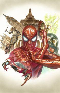 Alex Ross- Spider man 9 cover Comic Art
