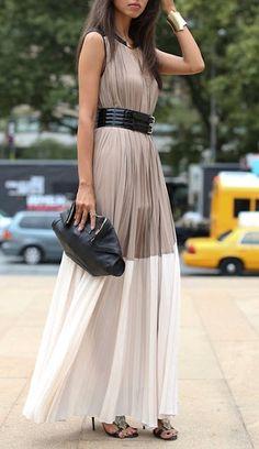Street look fashion week : belle des sables Estilo Fashion, Look Fashion, Spring Fashion, Classy Fashion, Fashion Shoes, Fashion Dresses, Fashion Design, Ny Fashion, Fashion Clothes