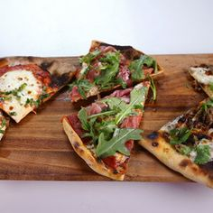 Simple, Special, Spectacular Pizzas: Margherita Pizza, Prosciutto and Arugula Pizza, Morels and Balsamic Pizza