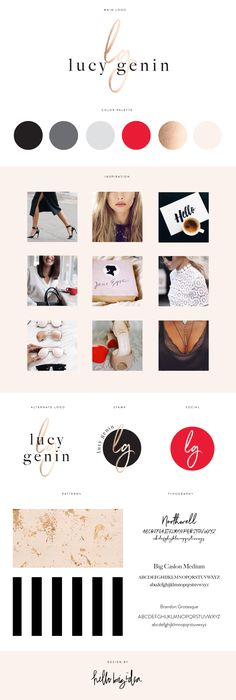 Brand design and identity by Hello Big Idea Brand Styling